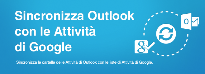 Sync2 - Sincronizza Outlook con Google