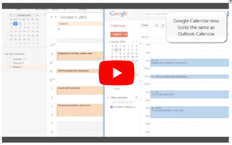 How to Sync Google Calendar with Outlook Calendar