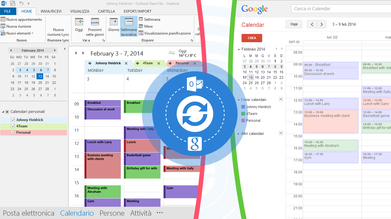 Sincronizzare Calendario Outlook Android.Sync2 Per Sincronizzare Outlook Su Vari Pc Sincronizza Outlook Con Google Calendar Gmail E Android