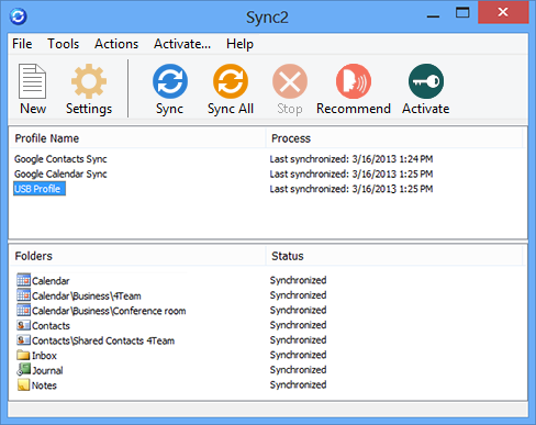 Google Sync for Microsoft Outlook